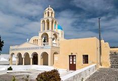 ελληνικός κίτρινος εκκλησιών Στοκ φωτογραφία με δικαίωμα ελεύθερης χρήσης