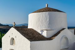ελληνικός μικρός εκκλη&sigm στοκ εικόνα