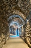 Ελληνικός-ρωμαϊκό θέατρο της Κατάνια σε Sicilia, Ιταλία Στοκ φωτογραφία με δικαίωμα ελεύθερης χρήσης
