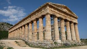 Ελληνικό αριστούργημα στη Σικελία στοκ εικόνες