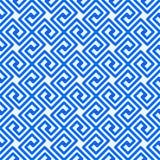 Ελληνικό βασικό άνευ ραφής σχέδιο γραμμών Στοκ Φωτογραφία
