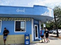Ελληνικό εστιατόριο, Φλώριδα στοκ φωτογραφία με δικαίωμα ελεύθερης χρήσης