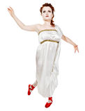 ελληνικό λευκό κοριτσιώ Στοκ εικόνα με δικαίωμα ελεύθερης χρήσης