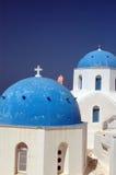 ελληνικό νησί εκκλησιών Στοκ εικόνες με δικαίωμα ελεύθερης χρήσης