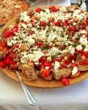 ελληνικό πιάτο dakos Στοκ Φωτογραφία