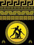 ελληνικό πρότυπο Στοκ Εικόνες