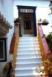 ελληνικό σπίτι Στοκ εικόνα με δικαίωμα ελεύθερης χρήσης