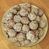 ελληνικό melomakarona μπισκότων Χρι&sigma Στοκ φωτογραφία με δικαίωμα ελεύθερης χρήσης