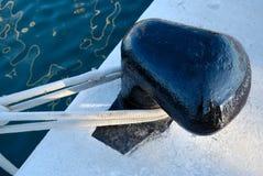 ελλιμενίζοντας σημείο βαρκών Στοκ εικόνα με δικαίωμα ελεύθερης χρήσης