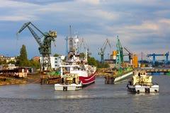 ελλιμενίζοντας σκάφος Στοκ Εικόνες