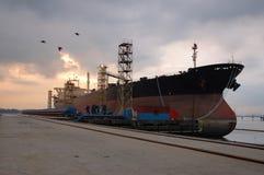 ελλιμενίζοντας σκάφος Στοκ φωτογραφίες με δικαίωμα ελεύθερης χρήσης