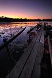ελλιμενίστε ξύλινο Στοκ φωτογραφία με δικαίωμα ελεύθερης χρήσης