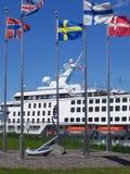 ελλιμενισμένος ήχος το&ups Στοκ φωτογραφία με δικαίωμα ελεύθερης χρήσης