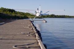 ελλιμενισμένο αεροπλάνο Στοκ φωτογραφίες με δικαίωμα ελεύθερης χρήσης