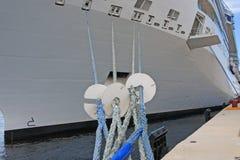 ελλιμενισμένο σκάφος Στοκ Εικόνες