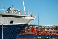 ελλιμενισμένο σκάφος Στοκ Φωτογραφίες