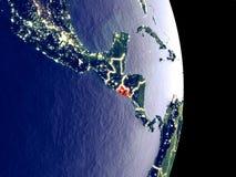 Ελ Σαλβαδόρ στη γη νύχτας στοκ φωτογραφία με δικαίωμα ελεύθερης χρήσης