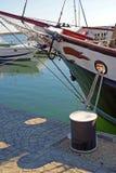 δεμένο σκάφος Στοκ Φωτογραφία