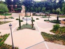 Εμίρης Mohamed Ι πάρκο Μαδρίτη Ισπανία Στοκ φωτογραφία με δικαίωμα ελεύθερης χρήσης