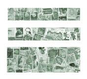 Εμβλήματα των γραμματοσήμων Στοκ Φωτογραφία