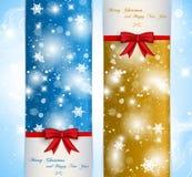 Εμβλήματα Χριστουγέννων Στοκ φωτογραφία με δικαίωμα ελεύθερης χρήσης