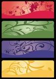 εμβλήματα floral Στοκ Εικόνα