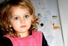 εμβρόντητο κορίτσι Στοκ Φωτογραφίες