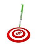 εμβόλιο χοίρων γρίπης Διανυσματική απεικόνιση