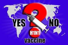 εμβόλιο χοίρων γρίπης Στοκ Φωτογραφία