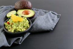 Εμβύθιση Guacamole στοκ εικόνα