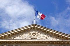 Εμβλήματα της Γαλλίας Παρίσι Γαλλία Στοκ φωτογραφία με δικαίωμα ελεύθερης χρήσης