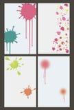 Εμβλήματα Paintball διανυσματική απεικόνιση
