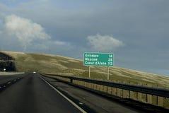 Εμείς εθνική οδός 95 και 195 στοκ φωτογραφία με δικαίωμα ελεύθερης χρήσης