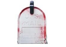 Εμείς ταχυδρομική θυρίδα που απομονώνεται Στοκ εικόνες με δικαίωμα ελεύθερης χρήσης