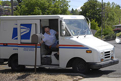 εμείς ταχυδρομική υπηρεσία Στοκ Φωτογραφία