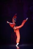 """Εμπαθές μπαλέτο """"One χίλιο και ένα Nights† χορευτών Στοκ εικόνα με δικαίωμα ελεύθερης χρήσης"""