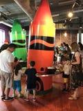 Εμπειρία Crayola στο Easton, Πενσυλβανία στοκ φωτογραφίες
