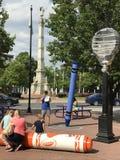 Εμπειρία Crayola στο Easton, Πενσυλβανία στοκ φωτογραφία