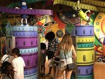 Εμπειρία Crayola στο Easton, Πενσυλβανία στοκ εικόνες με δικαίωμα ελεύθερης χρήσης