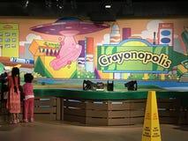 Εμπειρία Crayola στο Easton, Πενσυλβανία στοκ εικόνα με δικαίωμα ελεύθερης χρήσης