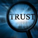 Εμπιστοσύνη Στοκ εικόνα με δικαίωμα ελεύθερης χρήσης