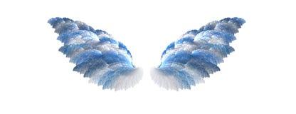 εμπνευσμένα φτερά Στοκ Εικόνες