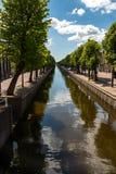 Εμποδίστε το όμορφο χωριό στις Κάτω Χώρες στοκ φωτογραφία