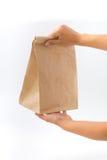Εμπορευματοκιβώτια για το γρήγορο φαγητό και τα ποτά υλικά ανακυκλώσιμα Στοκ Φωτογραφία