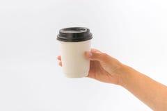 Εμπορευματοκιβώτια για το γρήγορο φαγητό και τα ποτά υλικά ανακυκλώσιμα Στοκ εικόνες με δικαίωμα ελεύθερης χρήσης