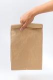 Εμπορευματοκιβώτια για το γρήγορο φαγητό και τα ποτά υλικά ανακυκλώσιμα Στοκ φωτογραφίες με δικαίωμα ελεύθερης χρήσης