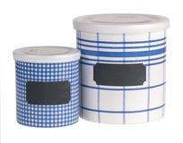 Εμπορευματοκιβώτια κουζινών στοκ εικόνες