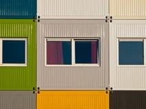 εμπορευματοκιβώτια φορτίου διαμερισμάτων Στοκ εικόνες με δικαίωμα ελεύθερης χρήσης