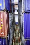 εμπορευματοκιβώτια φο&rh Στοκ εικόνα με δικαίωμα ελεύθερης χρήσης