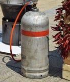 Εμπορευματοκιβώτιο αερίου υπαίθριο Στοκ Εικόνες
